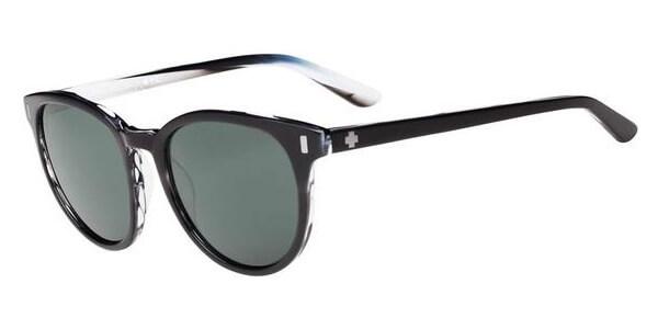 Sluneční brýle SPY model ALCATRAZ, barva obruby černá lesk bílá, čočka šedá, kód barevné varianty 074863.