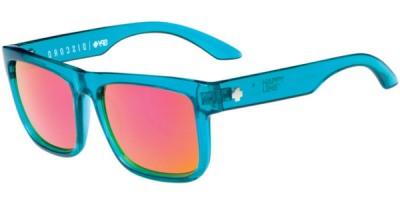 Sluneční brýle SPY model DISCORD, barva obruby tyrkysová lesk, čočka růžová zrcadlo polarizovaná, kód barevné varianty 114363.