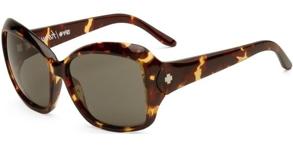 Sluneční brýle SPY model HONEY, barva obruby hnědá lesk, čočka zelená, kód barevné varianty 623133.