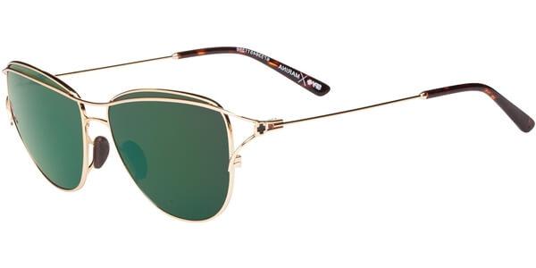 Sluneční brýle SPY model MARINA, barva obruby zlatá mat, čočka zelená zrcadlo, kód barevné varianty 511356.