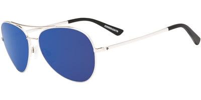 Sluneční brýle SPY model WHISTLER, barva obruby stříbrná lesk, čočka modrá zrcadlo, kód barevné varianty 566503.