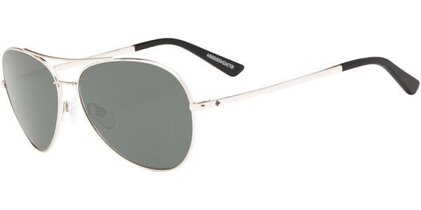 Sluneční brýle SPY model WHISTLER, barva obruby stříbrná lesk, čočka šedá polarizovaná, kód barevné varianty 566864.