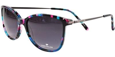 Sluneční brýle Tom Tailor model 63441, barva obruby černá lesk fialová, čočka šedá gradál, kód barevné varianty 213.