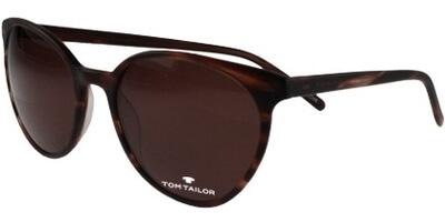 Sluneční brýle Tom Tailor model 63493, barva obruby hnědá mat, čočka hnědá, kód barevné varianty 394.
