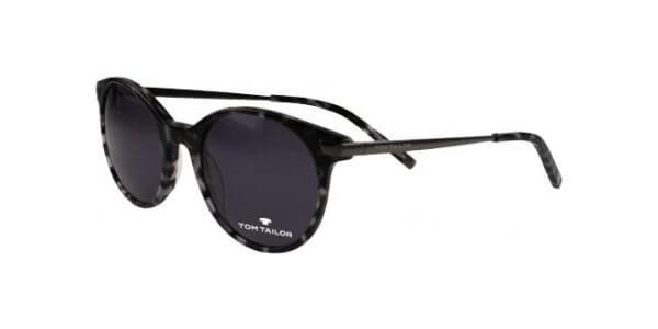 Sluneční brýle Tom Tailor model 63499, barva obruby šedá lesk stříbrná, čočka šedá, kód barevné varianty 413.