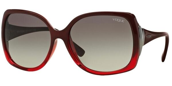 Sluneční brýle Vogue model 2695S, barva obruby vínová lesk červená, čočka šedá gradál, kód barevné varianty 234811.