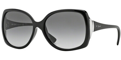 Sluneční brýle Vogue model 2695S, barva obruby černá lesk, čočka šedá gradál, kód barevné varianty W4411.