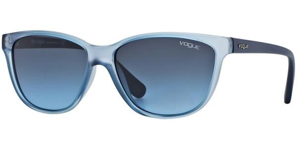 Sluneční brýle Vogue model 2729S, barva obruby modrá mat, čočka modrá, kód barevné varianty 20308F.