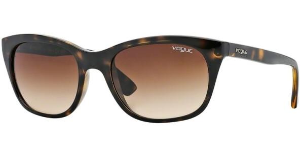 Sluneční brýle Vogue model 2743S, barva obruby hnědá lesk, čočka hnědá gradál, kód barevné varianty W65613.