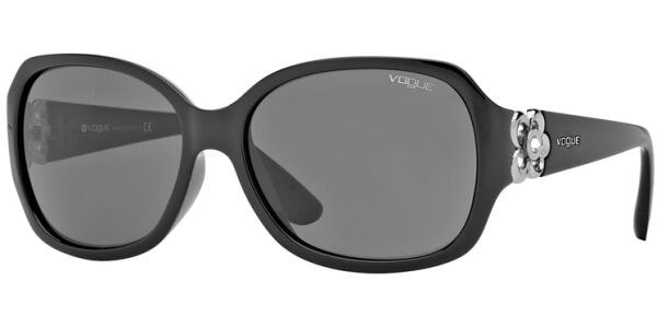 Sluneční brýle Vogue model 2778SB, barva obruby černá lesk, čočka šedá, kód barevné varianty W4487.