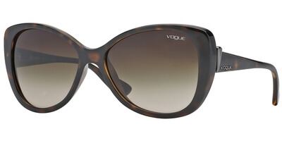 Sluneční brýle Vogue model 2819S, barva obruby hnědá lesk, čočka hnědá gradál, kód barevné varianty W65613.