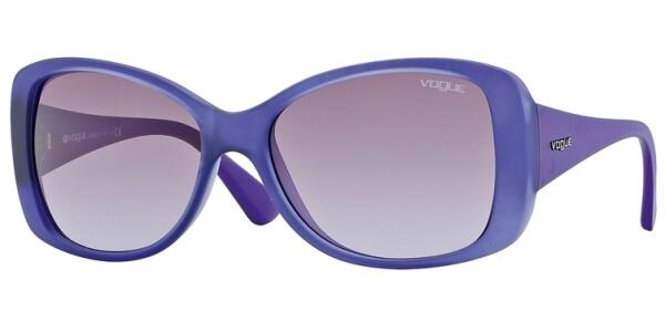 Sluneční brýle Vogue model 2843S, barva obruby fialová mat, čočka fialová gradál, kód barevné varianty 21518H.