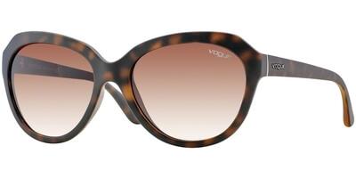 Sluneční brýle Vogue model 2845S, barva obruby hnědá mat, čočka hnědá gradál, kód barevné varianty W65613.