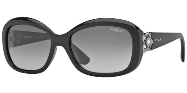 Sluneční brýle Vogue model 2846SB, barva obruby černá lesk, čočka šedá gradál, kód barevné varianty W4411.