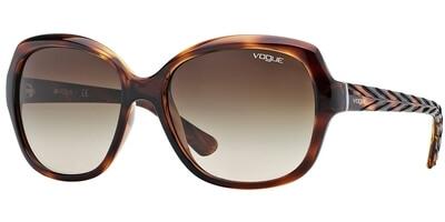 Sluneční brýle Vogue model 2871S, barva obruby hnědá lesk, čočka hnědá gradál, kód barevné varianty 150813.