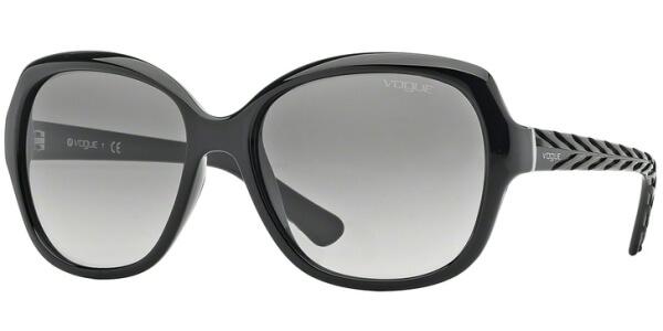 Sluneční brýle Vogue model 2871S, barva obruby černá lesk, čočka šedá gradál, kód barevné varianty W4411.