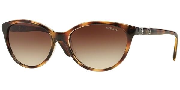 Sluneční brýle Vogue model 2894SB, barva obruby hnědá lesk, čočka hnědá gradál, kód barevné varianty 191613.