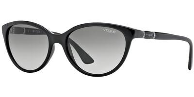 Sluneční brýle Vogue model 2894SB, barva obruby černá lesk, čočka šedá gradál, kód barevné varianty W4411.