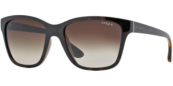 Sluneční brýle Vogue model 2896S, barva obruby hnědá lesk, čočka hnědá gradál, kód barevné varianty W65613.