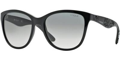 Sluneční brýle Vogue model 2897S, barva obruby černá lesk, čočka šedá gradál, kód barevné varianty W4411.