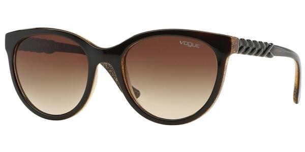 Sluneční brýle Vogue model 2915S, barva obruby hnědá lesk, čočka hnědá gradál, kód barevné varianty 225913.