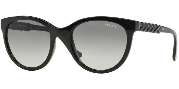 Sluneční brýle Vogue model 2915S, barva obruby černá lesk, čočka šedá gradál, kód barevné varianty W4411.