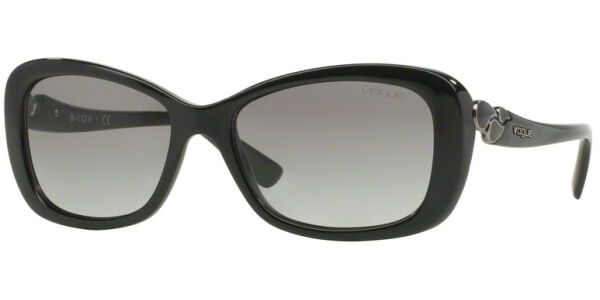 Sluneční brýle Vogue model 2917S, barva obruby černá lesk, čočka šedá gradál, kód barevné varianty W4411.
