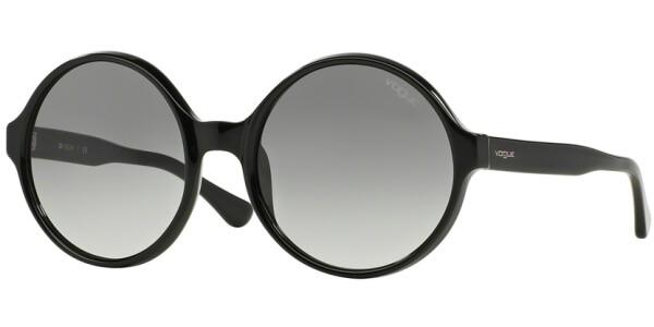 Sluneční brýle Vogue model 2919S, barva obruby černá lesk, čočka šedá gradál, kód barevné varianty W4411.