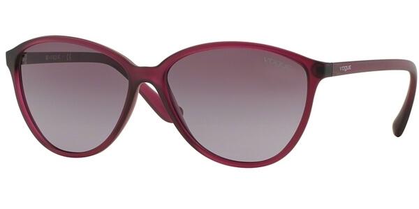Sluneční brýle Vogue model 2940S, barva obruby fialová mat, čočka fialová gradál, kód barevné varianty 22828H.