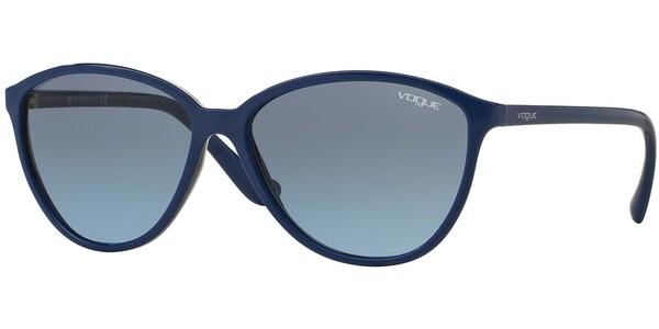 Sluneční brýle Vogue model 2940S, barva obruby modrá lesk, čočka modrá gradál, kód barevné varianty 23828F.