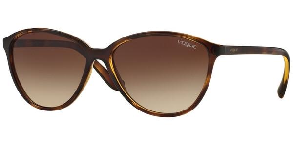 Sluneční brýle Vogue model 2940S, barva obruby hnědá lesk, čočka hnědá gradál, kód barevné varianty W65613.