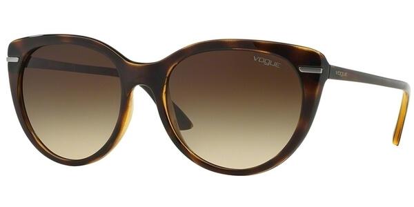 Sluneční brýle Vogue model 2941S, barva obruby hnědá lesk, čočka hnědá gradál, kód barevné varianty W65613.