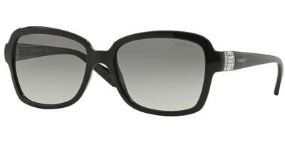 Sluneční brýle Vogue model 2942SB, barva obruby černá lesk, čočka šedá gradál, kód barevné varianty W4411.