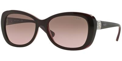 Sluneční brýle Vogue model 2943SB, barva obruby hnědá lesk fialová, čočka hnědá gradál, kód barevné varianty 194114.