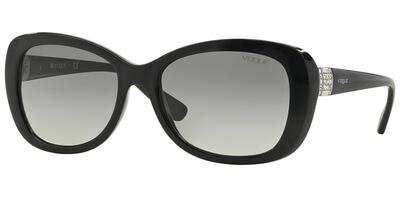 Sluneční brýle Vogue model 2943SB, barva obruby černá lesk, čočka šedá gradál, kód barevné varianty W4411.