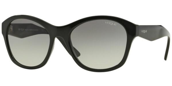 Sluneční brýle Vogue model 2991S, barva obruby černá lesk, čočka šedá gradál, kód barevné varianty W4411.