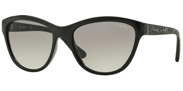 Sluneční brýle Vogue model 2993S, barva obruby černá lesk, čočka šedá gradál, kód barevné varianty W4411.