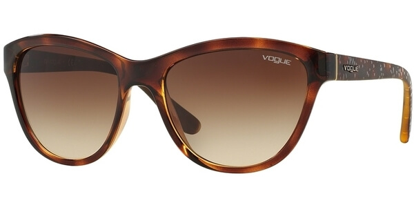 Sluneční brýle Vogue model 2993S, barva obruby hnědá lesk, čočka hnědá gradál, kód barevné varianty W65613.