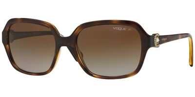 Sluneční brýle Vogue model 2994SB, barva obruby hnědá lesk, čočka hnědá gradál polarizovaná, kód barevné varianty W656T5.