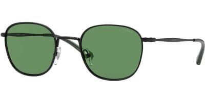 Sluneční brýle Vogue model 4173S, barva obruby černá lesk, čočka zelená, kód barevné varianty 3522.