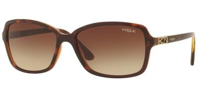 Sluneční brýle Vogue model 5031S, barva obruby hnědá lesk, čočka hnědá gradál, kód barevné varianty 238613.