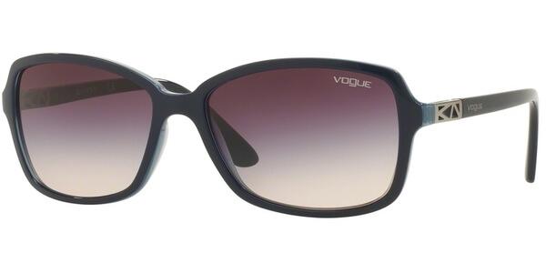 Sluneční brýle Vogue model 5031S, barva obruby modrá lesk, čočka růžová gradál, kód barevné varianty 238836.