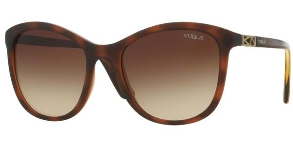 Sluneční brýle Vogue model 5033-S, barva obruby hnědá mat, čočka hnědá gradál, kód barevné varianty 238613.