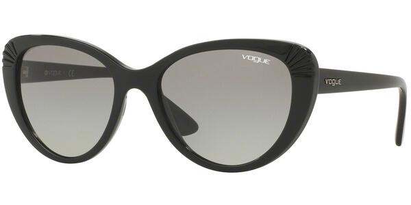 Sluneční brýle Vogue model 5050S, barva obruby černá lesk, čočka šedá gradál, kód barevné varianty W4411.