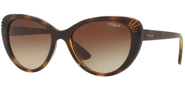 Sluneční brýle Vogue model 5050S, barva obruby hnědá lesk, čočka hnědá gradál, kód barevné varianty W65613.