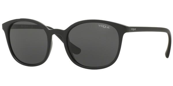 Sluneční brýle Vogue model 5051-S, barva obruby černá lesk, čočka čedá, kód barevné varianty W4487.