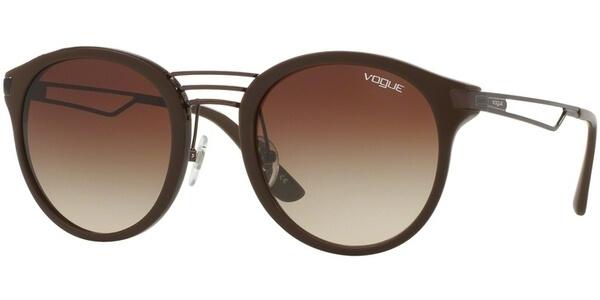 Sluneční brýle Vogue model 5132S, barva obruby hnědá lesk, čočka hnědá gradál, kód barevné varianty 249813.