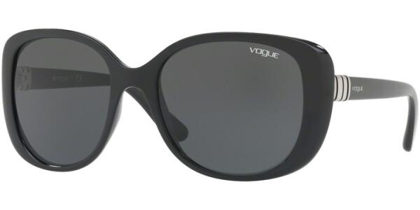 Sluneční brýle Vogue model 5155S, barva obruby černá lesk, čočka šedá, kód barevné varianty W4487.