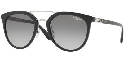 Sluneční brýle Vogue model 5164S, barva obruby černá lesk, čočka šedá gradál, kód barevné varianty W4411.