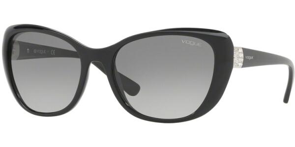 Sluneční brýle Vogue model 5194SB, barva obruby černá lesk, čočka šedá gradál, kód barevné varianty W4411.
